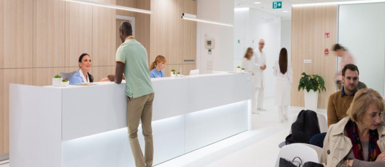 Clínica com alto fluxo de pacientes